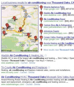 Local Search for Air Conditioning Thousand Oaks